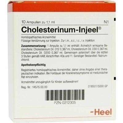 CHOLESTERINUM INJEEL Ampullen