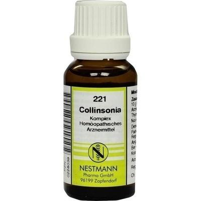 COLLINSONIA KOMPLEX Nr.221 Dilution