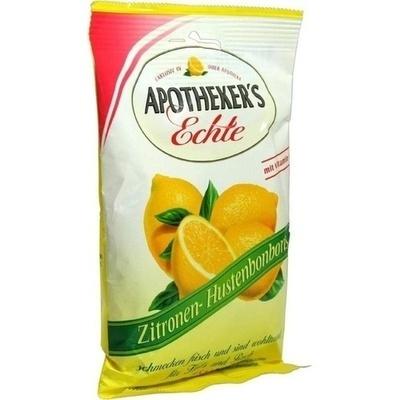 APOTHEKERS Echte Zitrone Hustenbonbons