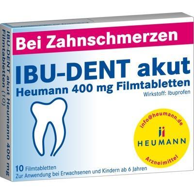 IBU-DENT akut Heumann 400 mg Filmtabletten