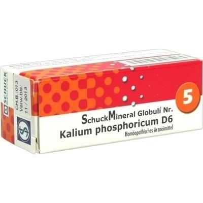 SCHUCKMINERAL Globuli 5 Kalium phosphoricum D6