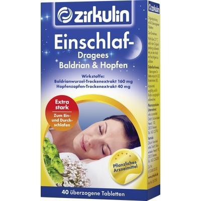 ZIRKULIN Einschlaf Dragees Baldrian+Hopfen