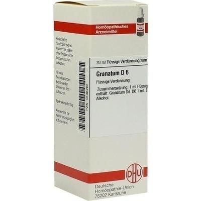 GRANATUM D 6 Dilution