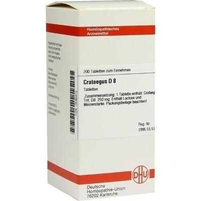 CRATAEGUS D 8 Tabletten