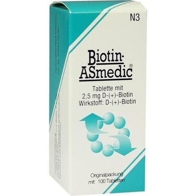 BIOTIN ASMEDIC 2,5 mg Tabletten