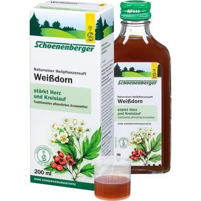 WEISSDORN SAFT Schoenenberger