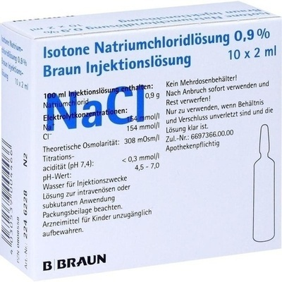 KOCHSALZLÖSUNG 0,9% Injektionslösung