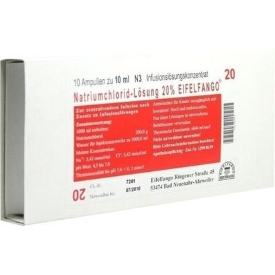 NATRIUMCHLORID 20% Eifelfango Infusionslsg.-Konz.