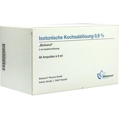 ISOTONISCHE Kochsalzlösung 0,9% Biokanol Ampullen