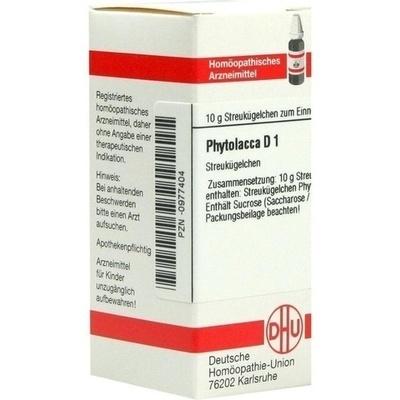PHYTOLACCA D 1 Globuli