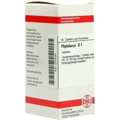 PHYTOLACCA D 1 Tabletten