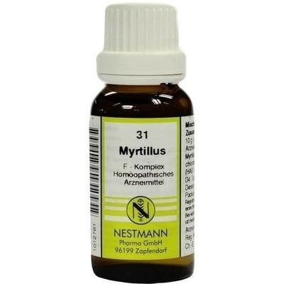 MYRTILLUS F Komplex 31 Dilution