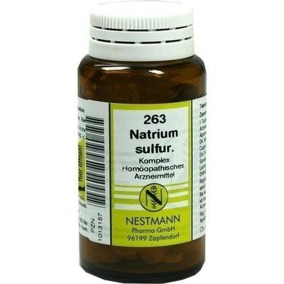 NATRIUM SULFURICUM KOMPLEX Nr.263 Tabletten