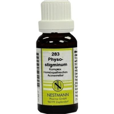 PHYSOSTIGMINUM KOMPLEX 283 Dilution