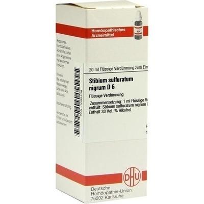 STIBIUM SULFURATUM NIGRUM D 6 Dilution