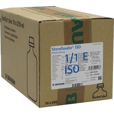 STEROFUNDIN ISO Ecoflac Plus Infusionslösung