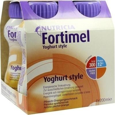 FORTIMEL Yoghurt Style Pfirsich Orangegeschmack