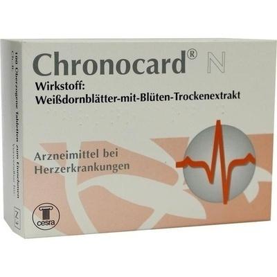 CHRONOCARD N überzogene Tabletten