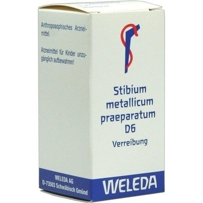 STIBIUM METALLICUM PRAEPARATUM D 6 Trituration