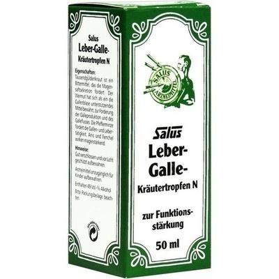 LEBER GALLE Kräutertropfen N Salus