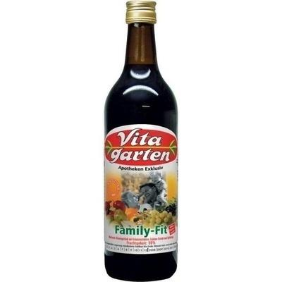 VITAGARTEN Family Fit Mehrfrucht Vitamingetränk