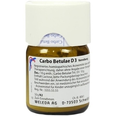 CARBO BETULAE D 3 Trituration