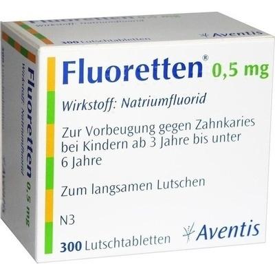 FLUORETTEN 0,5 mg Tabletten