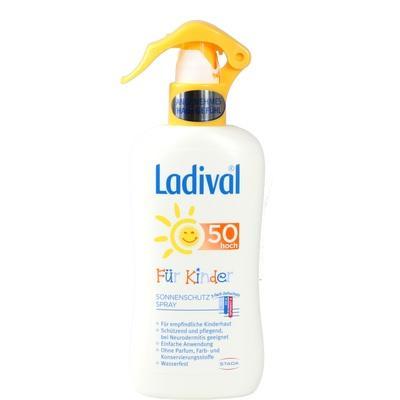 LADIVAL Kinder Spray LSF 50