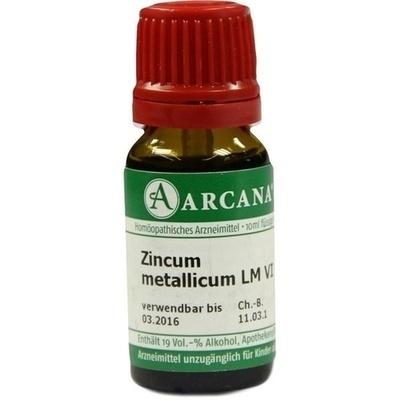 ZINCUM METALLICUM LM 6 Dilution