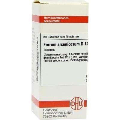 FERRUM ARSENICOSUM D 12 Tabletten