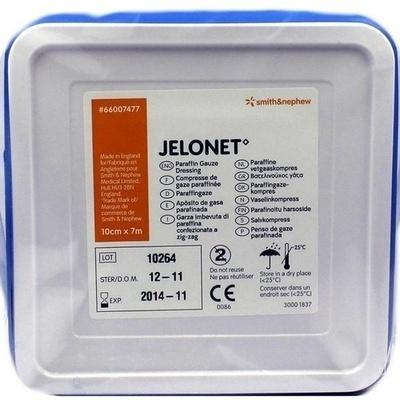 JELONET Paraffingaze 10x700 cm steril Dose