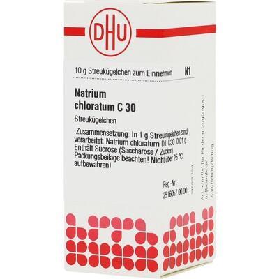 NATRIUM CHLORATUM C 30 Globuli