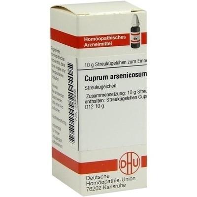 CUPRUM ARSENICOSUM D 12 Globuli