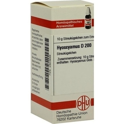 HYOSCYAMUS D 200 Globuli