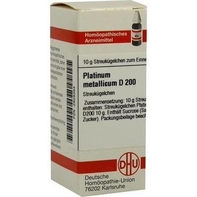 PLATINUM METALLICUM D 200 Globuli
