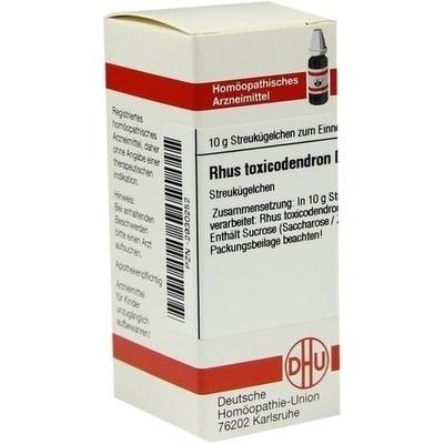 RHUS TOXICODENDRON D 200 Globuli