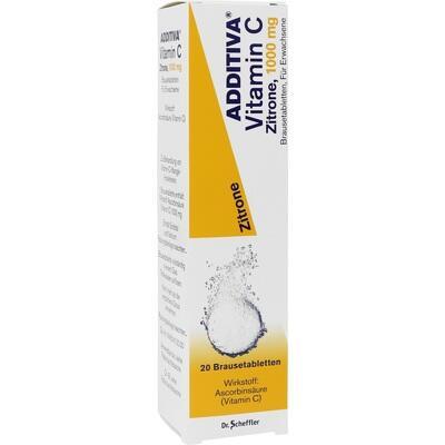 ADDITIVA Vitamin C 1 g Brausetabletten