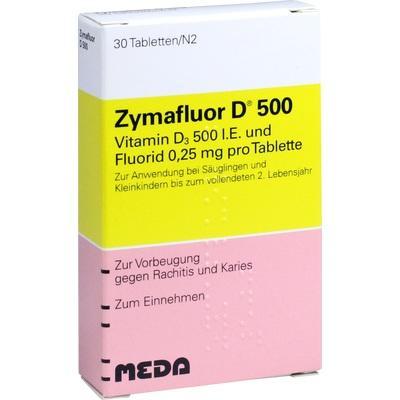 ZYMAFLUOR D 500 Tabletten