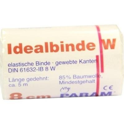 IDEALBINDE 8 cm m.Webkante m.Cell.
