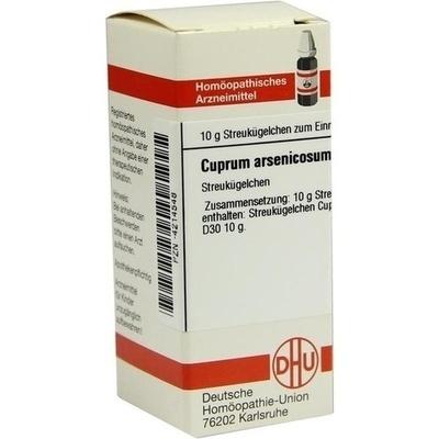 CUPRUM ARSENICOSUM D 30 Globuli