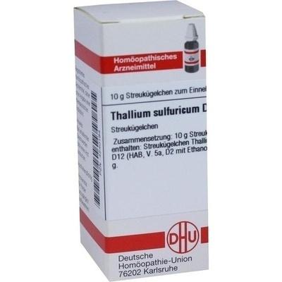 THALLIUM SULFURICUM D 12 Globuli