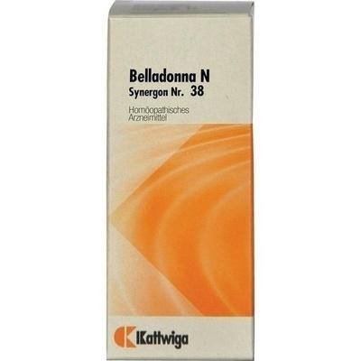 SYNERGON KOMPLEX 38 Belladonna N Tropfen