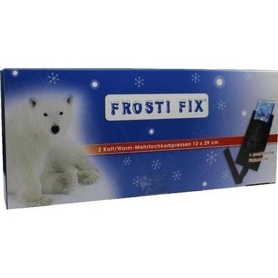 KALT-WARM Kompresse FrostiFix 12x29 cm m.Fixierba.
