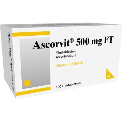 ASCORVIT 500 mg FT Filmtabletten