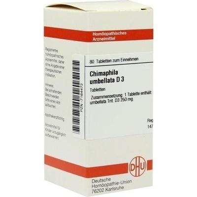 CHIMAPHILA UMBELLATA D 3 Tabletten