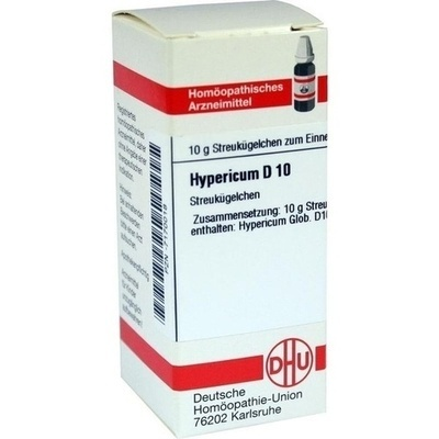 HYPERICUM D 10 Globuli
