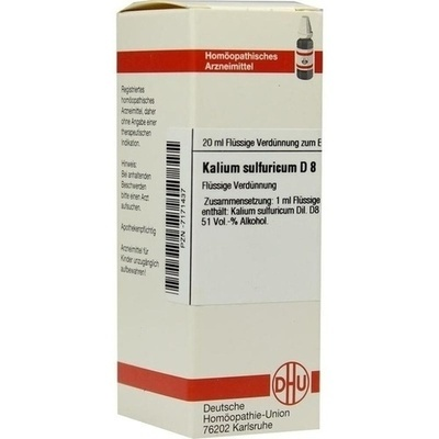 KALIUM SULFURICUM D 8 Dilution