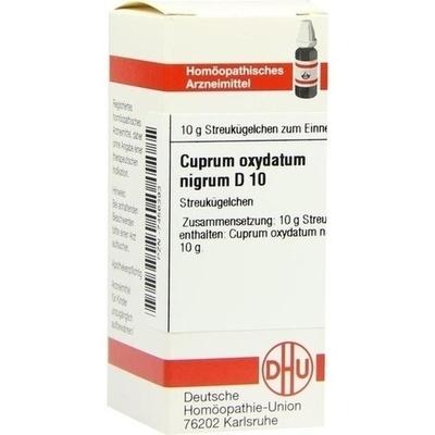 CUPRUM OXYDATUM nigrum D 10 Globuli