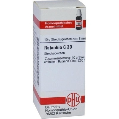 RATANHIA C 30 Globuli