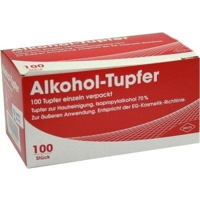 ALKOHOLTUPFER einzeln verpackt